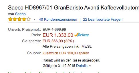 Der Hinweis von Amazon erscheint nun inkl. Gültigkeitsdauer des Gutscheins.