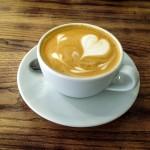 Cappuccinoauf Knopfdruck.