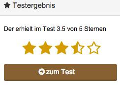 Keine Zusammengefasste Bewertung aus div. Portalen. Die Wertung aus dem eigenen Testbericht mit Link zum Test.