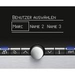 Benutzerprofile & One-Touch-Funktion beim Siemens EQ8 600.